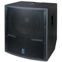 Yorkville LS801PB 1500-Watt Active Subwoofer Birch Version