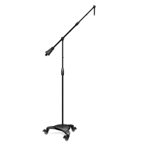 Ultimate Support MC125 Telecoping Boom Stand with Wheels