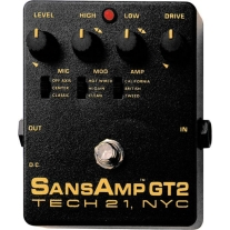 Tech 21 GT2 Sans Amp Tube Amp Emulator