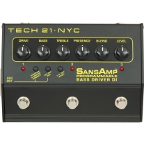 Tech 21 PBDR Sans Amp Programmable Bass DI