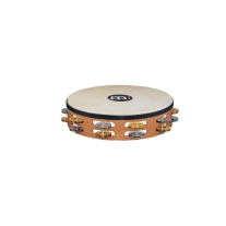 Meinl Headed Recording-Combo Tambourines - 2 Rows - Super Natural