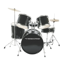 DrumFire DK7500-GB 5-Piece Drumset in Gloss Black
