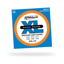 D'Addario EXL110 Nickel Regular Light Electric Guitar Strings