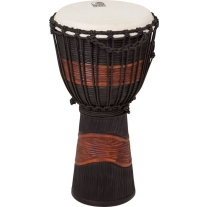 "Toca Street Series 8"" Small Djembe in Black/Brown"