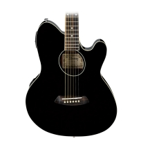 Ibanez TCY10ETBK Talman Acoustic/Elec Guitar in Black