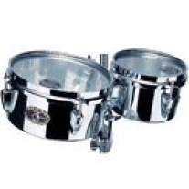 "Tama MT68ST Mini Steel Timbales 6"" and 8 with Mount"