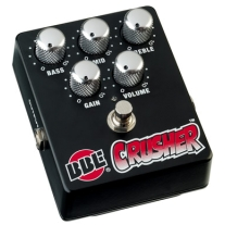 BBE Crusher Distortion Pedal with 3-Band EQ and True Bypass Guitar Pedal