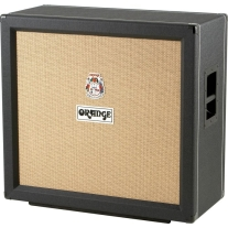 Orange PPC412CBK 4x12 Straight Speaker Cabinet in Black