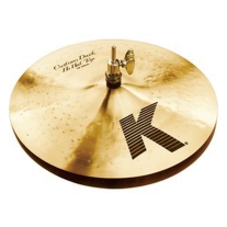 "Zildjian K Custom Series 13"" Dark Hi Hat Cymbals"