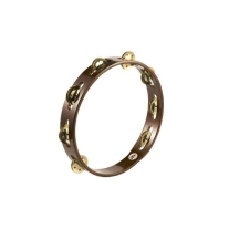 Meinl TA1BAB Single Row Brass Jingle Tambourine