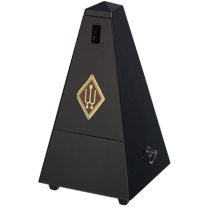 Wittner 806m Wooden Casing Metronome in Black Without Bell