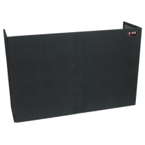 Odyssey CF6048 Carpeted Portable Foldout Screen 48H60W18.5D