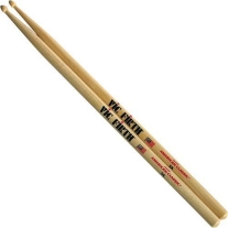 Vic Firth 5A Wood Tip Drumsticks with Teardrop-Shaped Tip