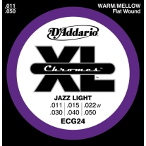 D'Addario ECG24 Chromes Jazz Light 11-50