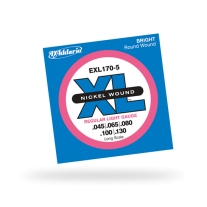 D'Addario EXL170-5 Long Scale 5-String 45-130
