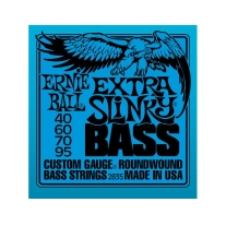 Ernie Ball 2835 Extra Slinky Bass Nickel Wound .040 - .095
