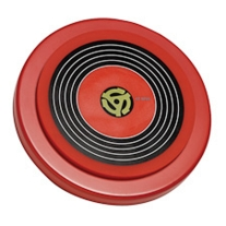 Kaces Grafix Drummers Practice Pad Red Graphic - 45 RPM Record