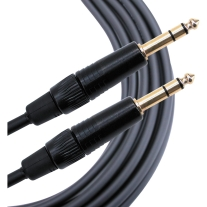 Mogami Gold TRS to TRS 6' Patch Cable