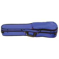 BOBELOCK #1007 Puffy Shaped Violin Case in BLUE 4/4