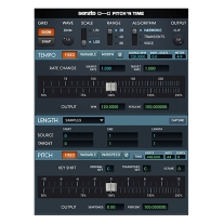 Serato Pitch 'n Time Pro 3 Time Stretching and Pitch-Shifting AudioSuite Plug-In