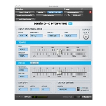 Serato Pitch 'N Time LE 3.0 Time Stretching and Pitch-Shifting Software