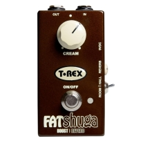 T Rex Fat Shuga Boost and Reverb Pedal