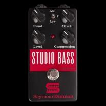 Seymour Duncan Studio Bass Compressor Pedal Bass Compression Effect Pedal