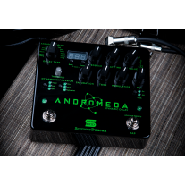Seymour Duncan Andromeda Dynamic Digital Delay Effects Pedal w/ Tap Tempo