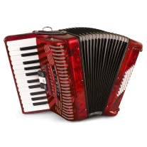 Hohner 1304-RED Student Hohnica Accordion