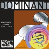 Thomastik Infeld Dominant 135b BONUS Set Synthetic Core 4/4 Violin Strings