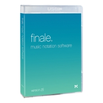 Alfred Finale 25 Music Notation Software, Version 25
