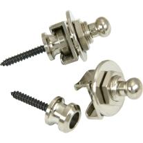 Schaller Straplocks Nickel 2-Pack