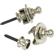 Schaller Straplocks Nickel 2-Pack