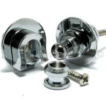 Schaller Chrome Straplocks 2-Pack