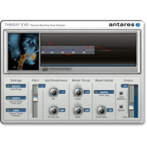 Antares Throat Evo Vocal Designer Plug-In