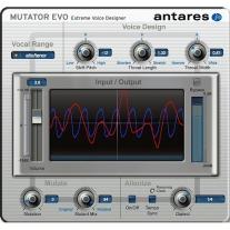 Antares Mutator Extreme Voice Designer Plug-In