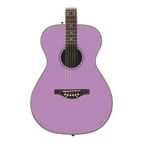 Daisy Rock Pixie Acoustic Guitar, Pastel Purple