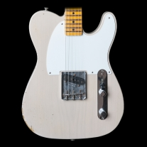 Fender Custom Shop 2015 1955 Relic Esquire Ltd Ed - Dirty White w/ Case