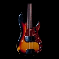 Fender Custom Shop Anniversary 1964 Heavy Relic Precision Bass in Sunburst