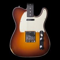 Fender 1960 Relic Tele Custom 3-Tone Chocolate Sunburst 2015 Ltd Ed w/ Case