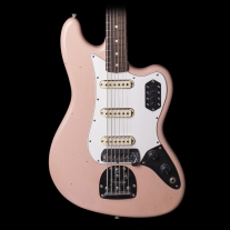 Fender Custom Shop Bass VI Journeyman Relic Aged Shell Pink w/ Case