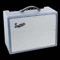 "Supro 1622RT Tremo-Verb 1x10"" 25 Watts Class A Reverb Tremolo Combo"