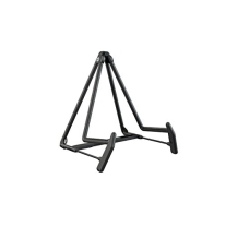 K&M Stands 17580B Heli 2 Acoustic Guitar Stand, Black