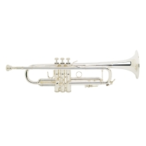 Bach Model 180S37 Stradivarius Silver Bb Trumpet