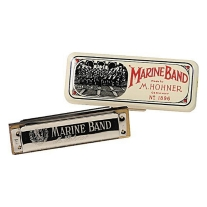 Hohner Marine Band Harmonica, Key of B