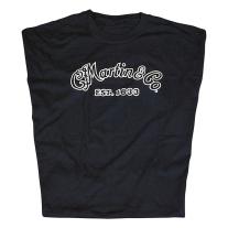 Martin Basic Logo T-Shirt Black Large