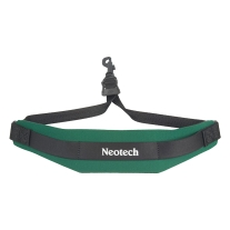 Neotech Soft Sax Strap In Forest Green with Swivel Hook