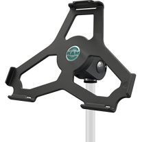 "K&M 19717 Tablet Mic Stand Holder 5/8"" Black"