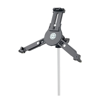 K&M 19790 | Universal Tablet Microphone Stand Mount Holder