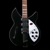 Rickenbacker 1993 Plus 12-String Electric Guitar Jetglo w/ Case